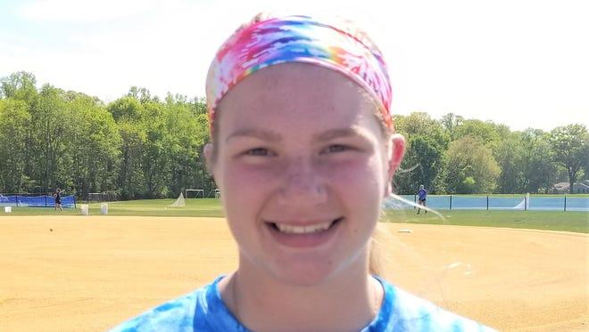 Sterling High School freshman softball pitcher Mallory Skelly.