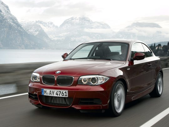 This photo provided by BMW shows the 2012 BMW 1 Series,