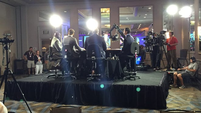ESPN's SEC Media Day coverage on Monday