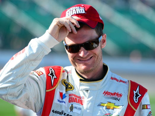 Dale Earnhardt Jr., born Oct. 10, 1974, began his NASCAR Sprint Cup career in 1999. He became a full time Cup driver in 2000.