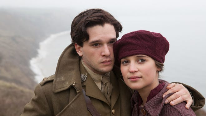 """Kit Harington and Alicia Vikander play young lovers separated by World War I in """"Testament of Youth."""""""
