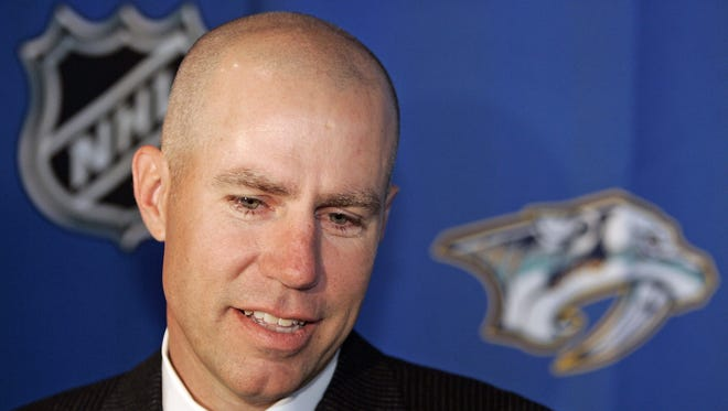 David Freeman led the effort to buy the Nashville Predators in 2007. He recently sued the franchise because of a business dispute with Predators Chairman Tom Cigarran.