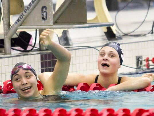 Girls Swimming: WIAA D1 Sectionals at Waukesha South