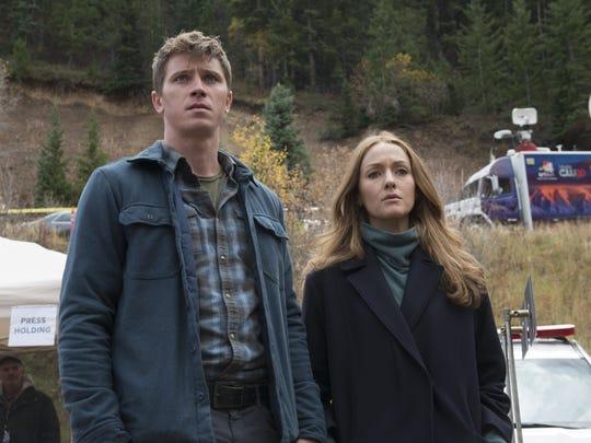 Garrett Hedlund as Joel and  Jennifer Ferrin as Petra