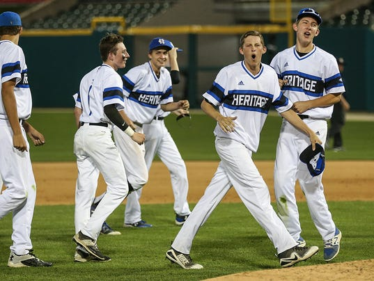 Heritage Christian Eagles baseball defeats Cathedral Irish in city tournament final