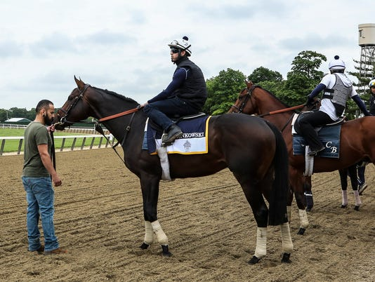 Gronkowski at Belmont