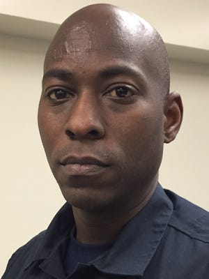 Robert Chamberlain, 34, is among IMPD's newest police recruits. He previously served in the Army's 101st Airborne, including a tour in Afghanistan.