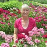 Linda VanApeldoorn is the owner of Take Your Pick Flower Farm in Lansing.