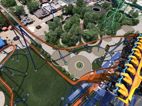 Cedar Point's Valravn will feature a 90-degree drop
