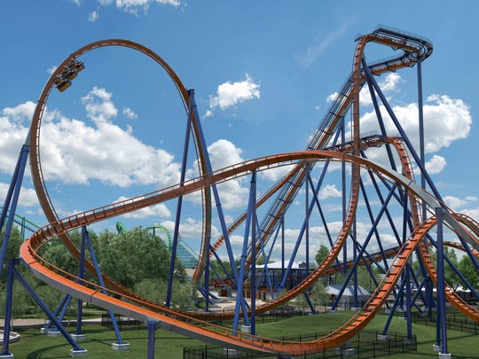 Cedar Point unveiled plans Wednesday for its Valravn dive coaster for the 2016 season.