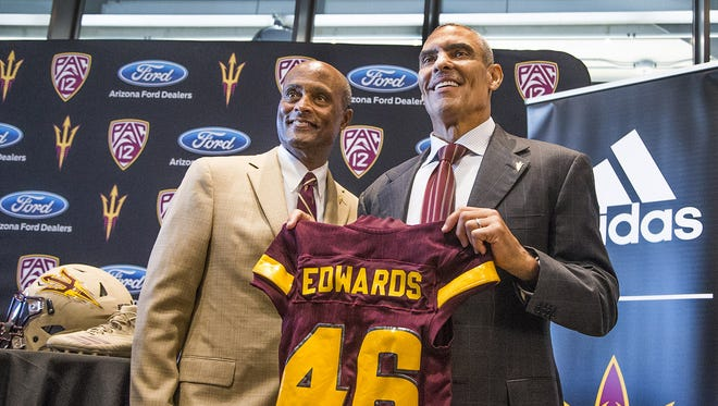 ASU's change from Todd Graham to Herm Edwards as coach isn't going completely according to plan.