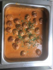 Kofta curry, which is vegetable balls in spices, is