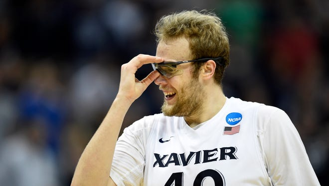 Xavier's 6-10, 270-pound senior center Matt Stainbrook has been a driving force this year for the Musketeers.
