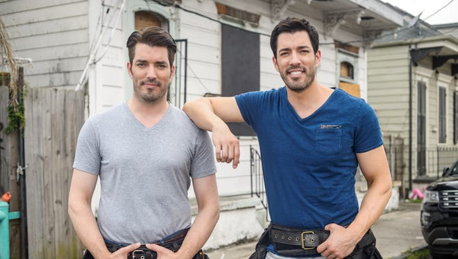 Jonathan and Drew Scott work side-by-side to renovate a traditional shotgun style house in the heart of New Orleans on 'Brothers Take New Orleans.'