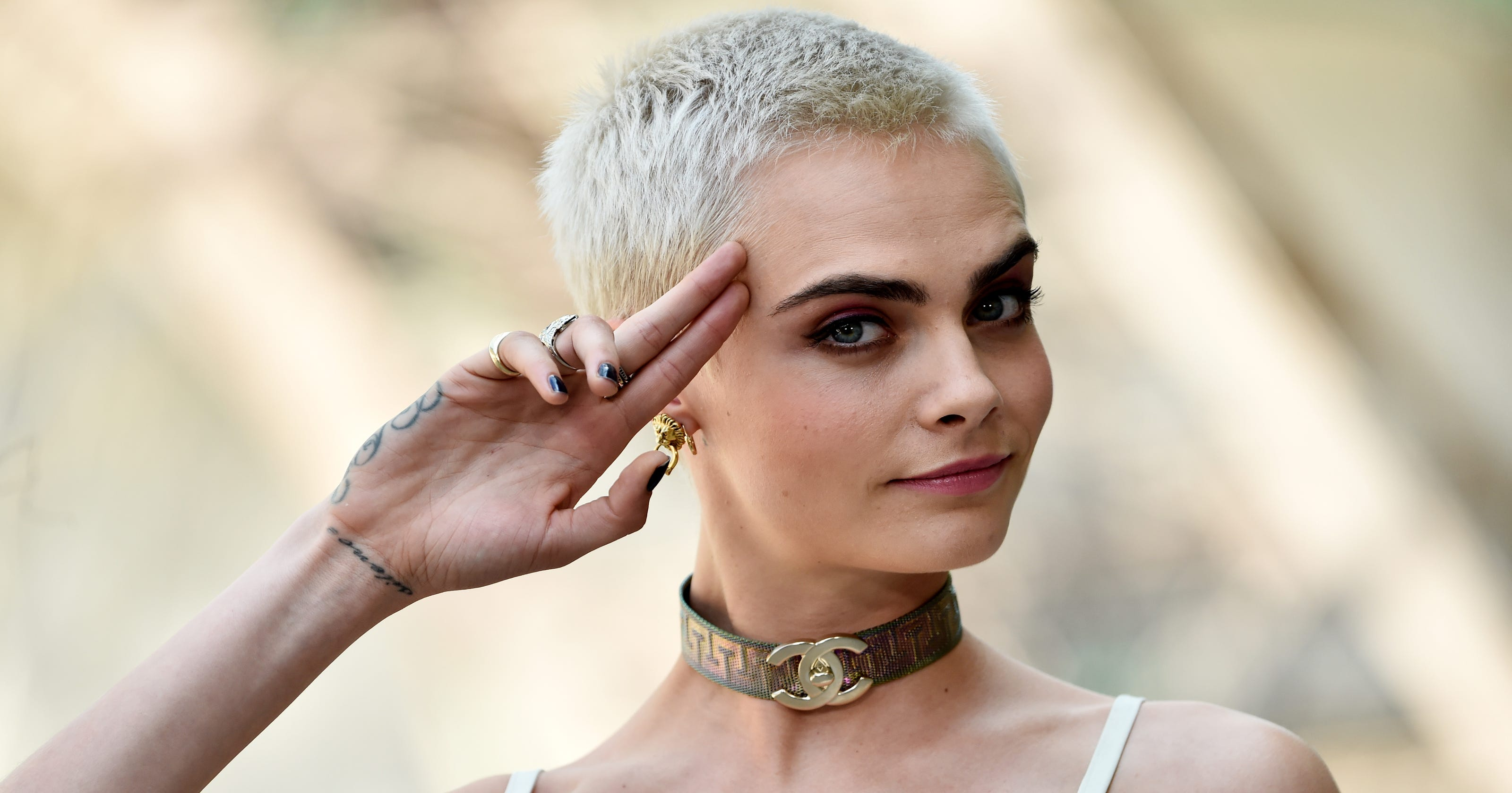 Cara Delevingne On Shaving Her Head You Dont Need Hair To Be