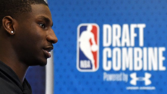 Many draft experts believe Michigan State's Jaren Jackson Jr. will go to the Atlanta Hawks at No. 3 in Thursday's NBA draft.