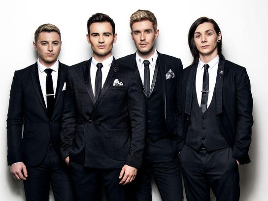 Collabro will sing a selection of Broadway tunes  when