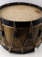 This Civil War-era drum is up for auction at Worthington