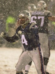 Largely hailed as the greatest kick in NFL history, Vinatieri's 45-yarder through a blizzard in 2002 helped the Patriots on their way to the franchise's first Super Bowl.