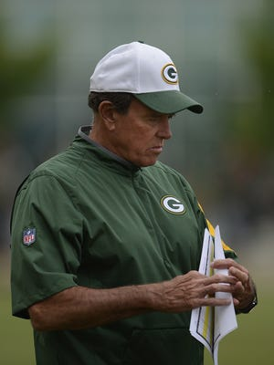 Green Bay Packers defensive coordinator Dom Capers.