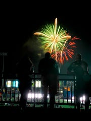Fourth of July at PeoplesBank Park, Tuesday July 4, 2017.  John A. Pavoncello photo