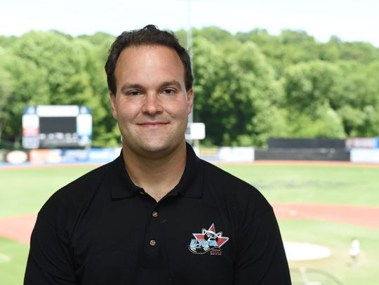 The Hudson Valley Renegades' director of media relations