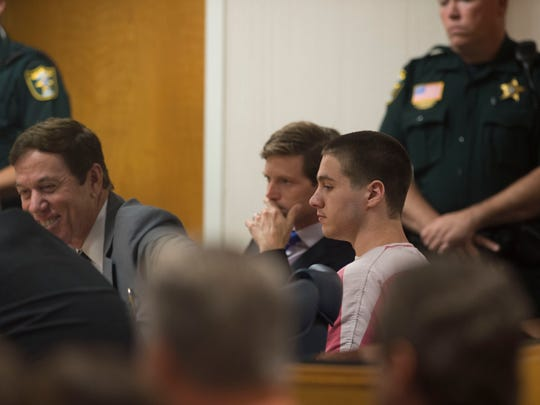 Austin Harrouff, who is accused of murdering Jupiter