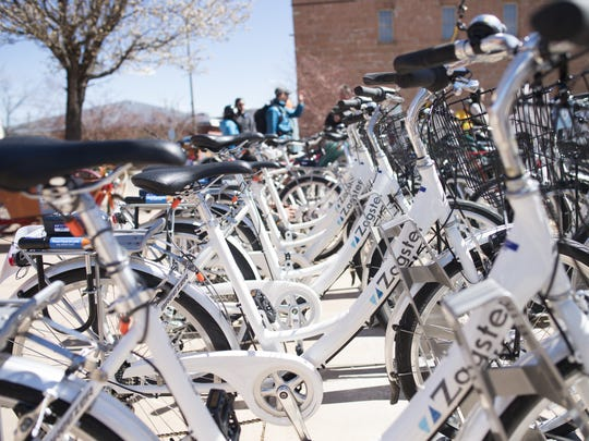 The Fort Collins Bike Share offers bikes to check out