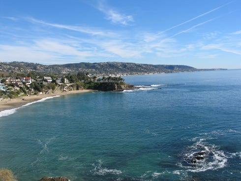 Laguna Beach is almost as famous for its arts scene as its beaches, with over 70 galleries