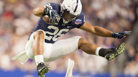 See superhero Saquon Barkley completely dominate NFL combine events