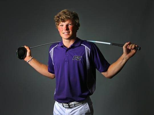 Frankie Capan, junior golfer from Phoenix Northwest