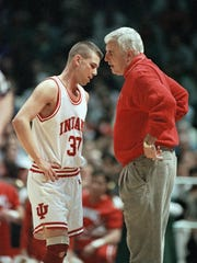 """The smartest mind the game's probably ever seen,"" Leary says of former coach Bob Knight."