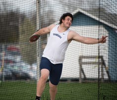 Kelton Chastulik broke the Chambersburg school record in the discus in a Mid Penn Commonwealth Division dual meet against Mifflin County.