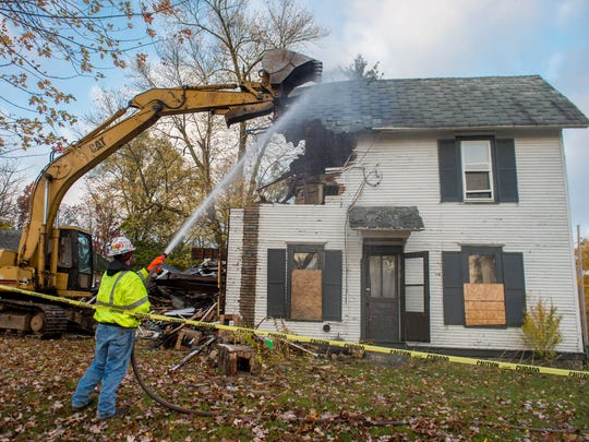 The home at 87 High St. was torn down in 2015.
