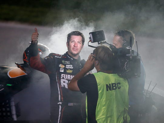 Monster Energy NASCAR Cup Series driver Martin Truex
