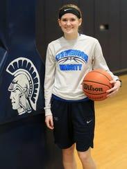 Shooting guard Sarah Tanderys will look to build off