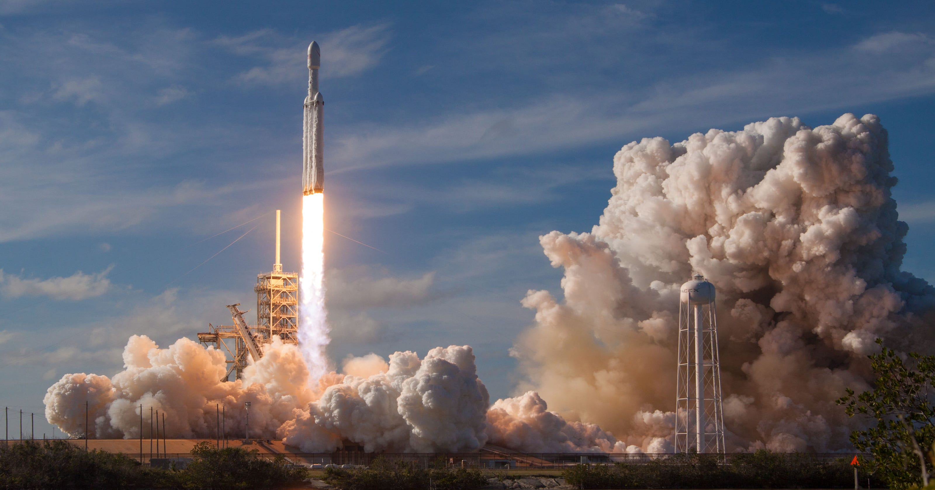 SpaceX Falcon Heavy launch: Weather may halt Tuesday launch
