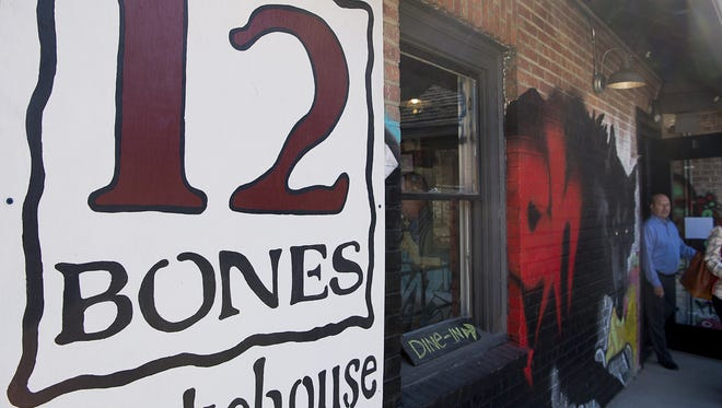 Asheville's iconic barbecue joint 12 Bones Smokehouse opened its doors to customers Feb. 6 at its new home at 5 Foundy St.