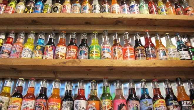The new Rocket Fizz store on Naples Boulevard in North Naples features 250 flavors of soda pop.
