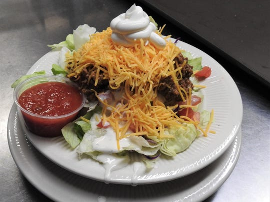 The Mexican potato is a staple for the customers of Olde Falls Inn.