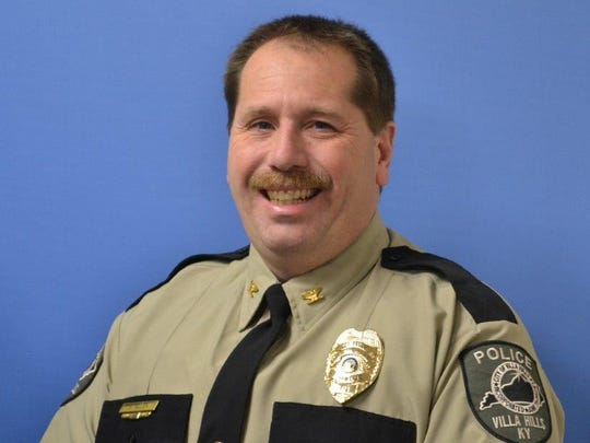 Villa Hills Police Chief Bryan Allen.