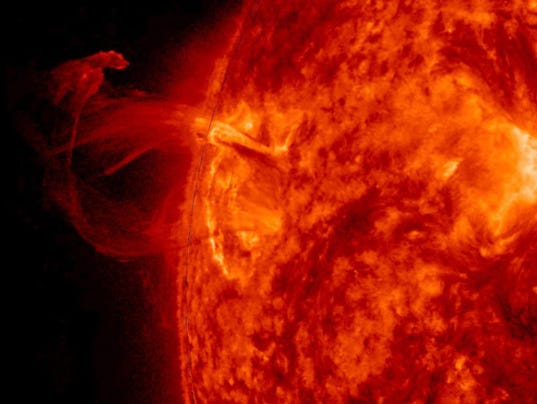 EPA SPACE NATURE SUN SOLAR FLARE ENV NATURE --- -