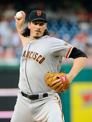 Jeff Samardzija has a tall task in facing his old franchise, the Chicago Cubs, on Thursday night.