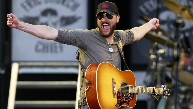 Eric Church performs two sets Friday at the BMO Harris Bradley Center.