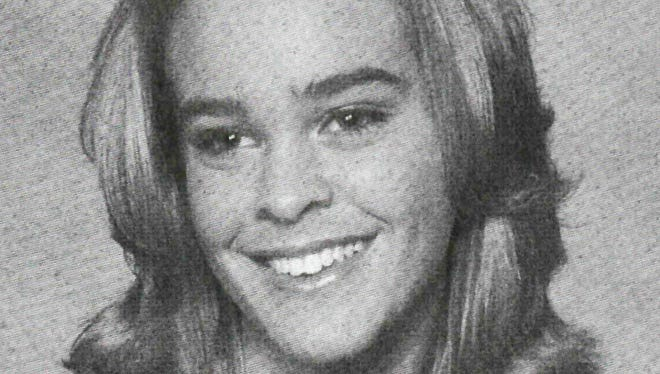 Lacey Spears in the Decatur High School yearbook, class of 2006.
