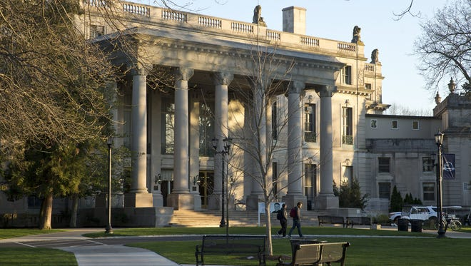 Woodrow Wilson Hall, at Monmouth University in West Long Branch, was built in 1929.