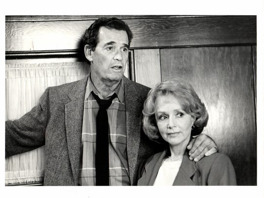 "James Garner and Piper Laurie - ""the Promise,"" CBS"