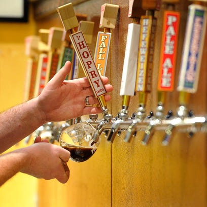 There a lots of different types of beer on tap in Nashville