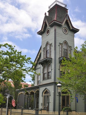 The Abbey Bed-and-Breakfast is among the stately buildings in Cape May.
