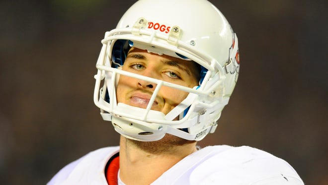 Fresno State's Derek Carr has thrown 39 touchdowns to only four interceptions.